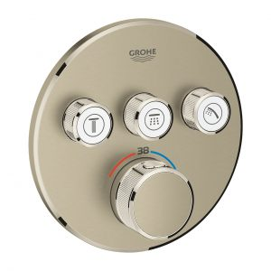 GROHE Grohtherm SmartControl - podtynkowa bateria termostatyczna do obsługi trzech wyjść wody brushed nickel 29121EN0