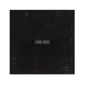 Brodzik kompozytowy STONEX® Roca Helios 90x90 cm Czarny dekatyzowany AP2013843840181P ^