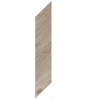 Płytka dekoracyjna deskopodobna Paradyż Wildland Warm Chevron Prawy 14,8x88,8 cm