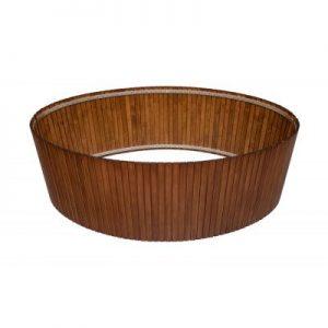 Obudowa do wanny akrylowej sosnowa w kolorze mahoniowym Roca Aura 190x100 cm A25T081000