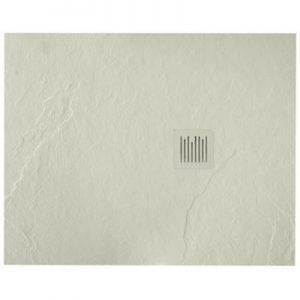 Brodzik kompozytowy STONEX® Roca Ignis 100x80 cm Szary cement AP7013E832001300