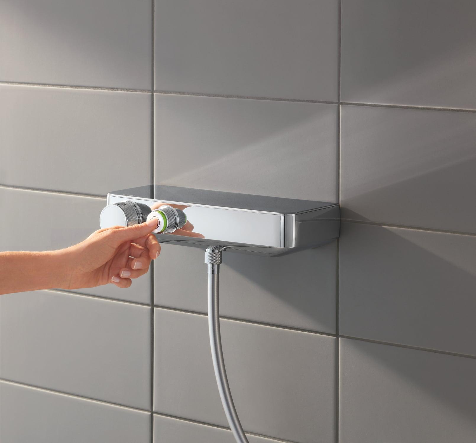 Zdjęcie Termostatyczna bateria prysznicowa Grohe Grohtherm SmartControl chrom 34719000
