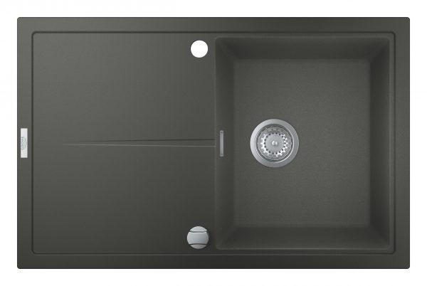 Zdjęcie Zlewozmywak kompozytowy Grohe K400 z ociekaczem 50-C 78×50 1-komorowy 31639AT0