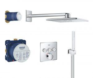Podtynkowy system prysznicowy Grohe SmartControl chrom 34712000