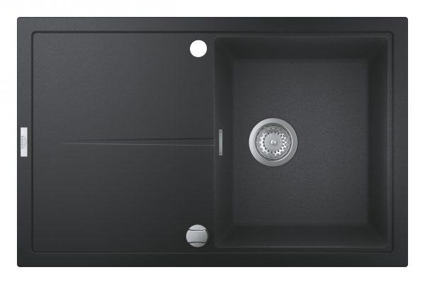 Zdjęcie Zlewozmywak kompozytowy Grohe K400 z ociekaczem 50-C 78×50 1-komorowy 31639AP0