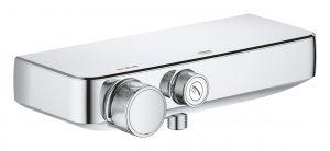 Termostatyczna bateria prysznicowa Grohe Grohtherm SmartControl chrom 34719000