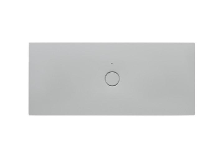 Brodzik prostokątny ceramiczny Roca Cratos Senceramic 1600 x 700 mm Perłowy A3740L3630