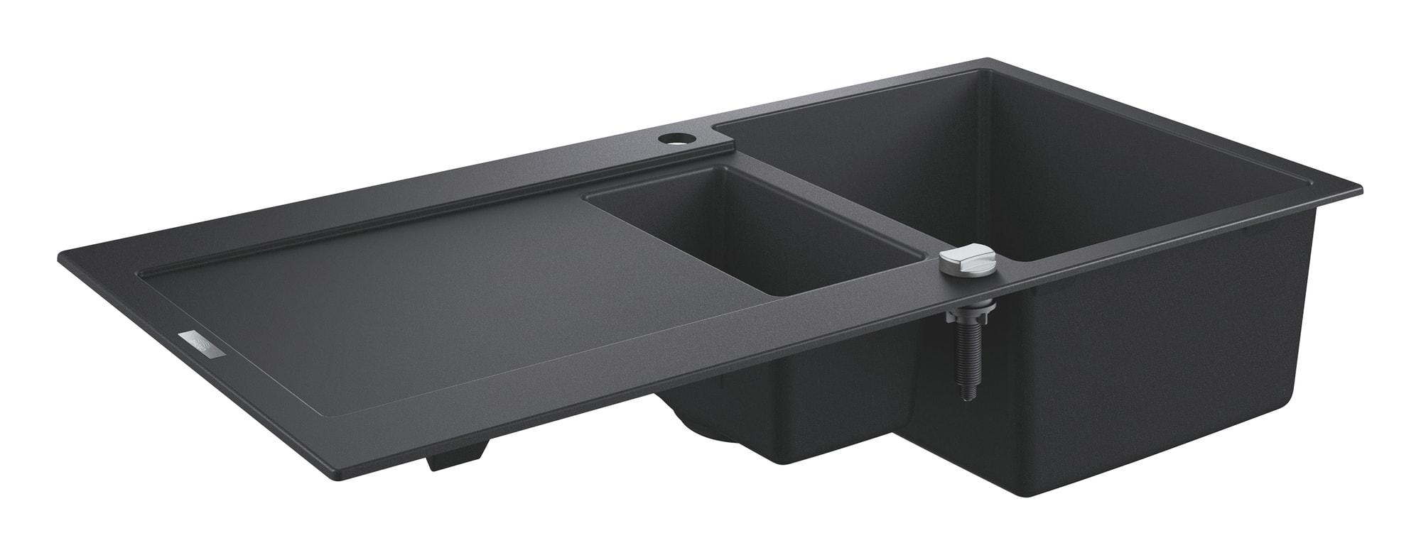 Zlewozmywak kompozytowy Grohe K500 z ociekaczem 100x50 1,5-komory 31646AP0