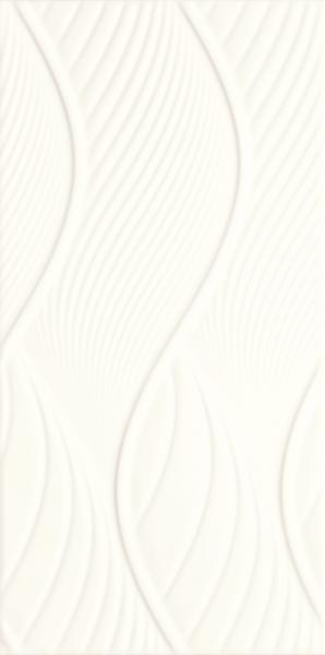 Płyta ścienna Paradyż Fiori Bianco STR 30x60 cm