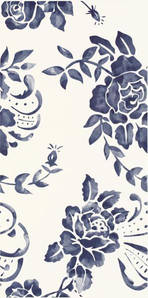 Płyta ścienna Paradyż Porcelano Blue Dekor 30x60 cm
