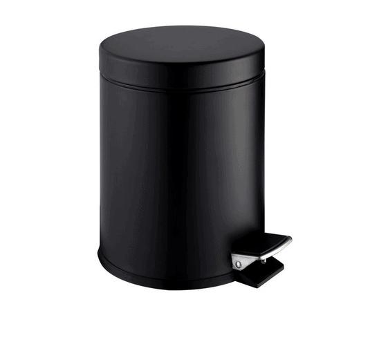 Zdjęcie Kosz na śmieci pedałowy Stella STANDARD okrągły 5L Stella czarny mat 20.005-MB