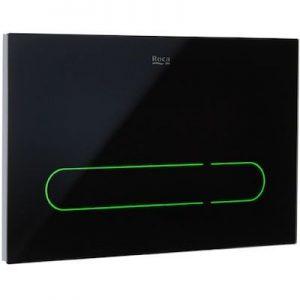 Roca EP-1 - przycisk elektroniczny spłukujący do WC czarny A890104008