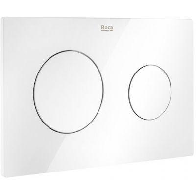 Roca PL10 - przycisk podwójny spłukujący do WC biały A890189000