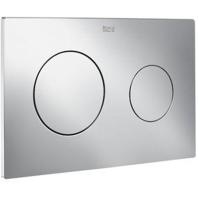 Roca PL10 - przycisk podwójny spłukujący do WC chrom A890189001