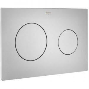 Roca PL10 - przycisk podwójny spłukujący do WC szary lakierowany A890189002