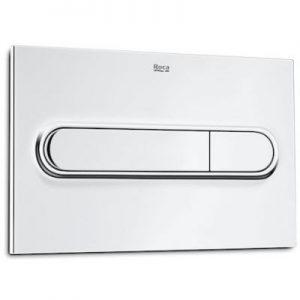 Roca PL1 - przycisk podwójny spłukujący do WC chrom A890195001