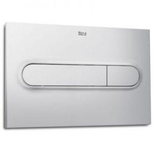 Roca PL1 - przycisk podwójny spłukujący do WC szary lakierowany A890195002
