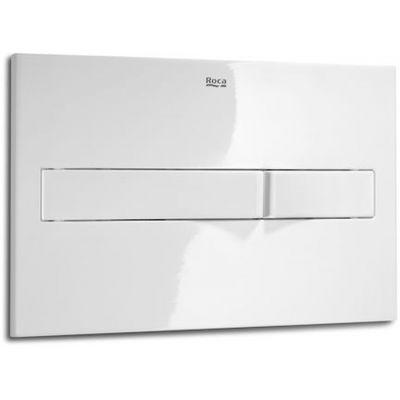 Roca PL2 - przycisk podwójny spłukujący do WC biały A890196000