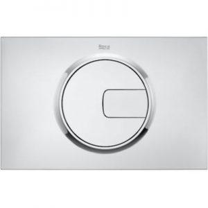 Roca PL4 - przycisk podwójny spłukujący do WC chrom A890198001