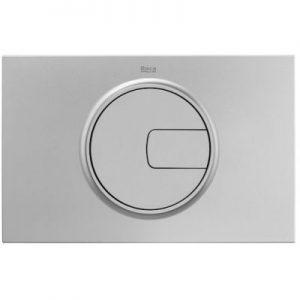 Roca PL4 - przycisk podwójny spłukujący do WC szary lakierowany A890198002