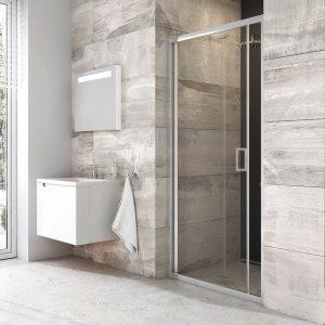 Drzwi prysznicowe Ravak Blix BLDZ2 70 cm szkło transparentne X01H10C00Z1