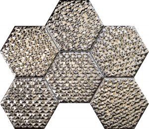 Mozaika ścienna Tubądzin Terraform 2 28,9x22,1 cm