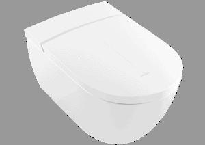Miska WC myjąca bezrantowa Villeroy & Boch VoClean owalna 38,5 x 59,5 cm Weiss Alpin CeramicPlus V0E100R1