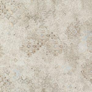 Plytka podłogowa Tubądzin Terraform Grey Stain Geo LAP 59,8x59,8 cm