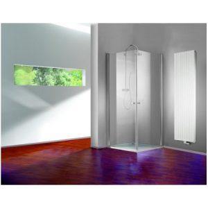 MEGA WYPRZEDAŻ! Drzwi prysznicowe skrzydłowe Huppe 501 Design 90 510601092321 @ ^