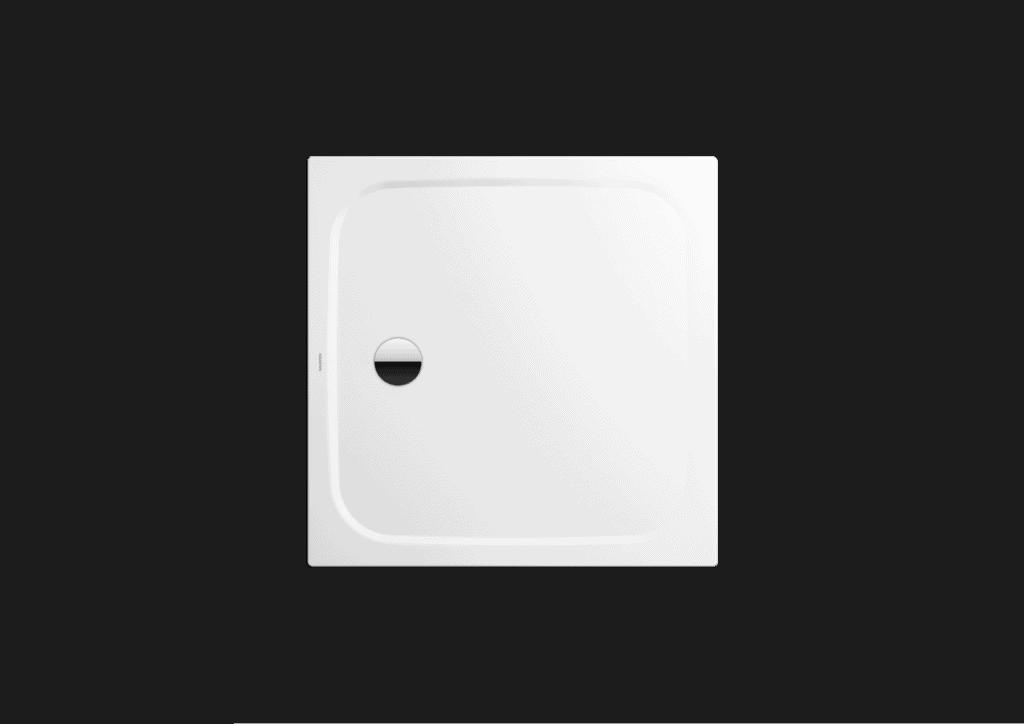 Brodzik kwadratowy Kaldewei Cayonoplan 2258-5 1000x1000x185mm Obniżony nośnik Biały 361847980001