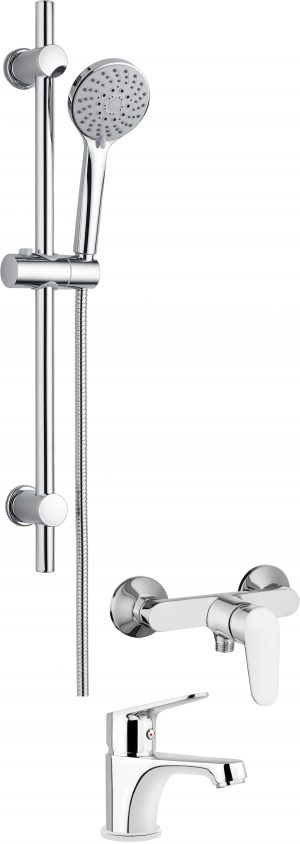 Deante Chaber Komplet łazienkowy natryskowy 3w1 BGCB040M_