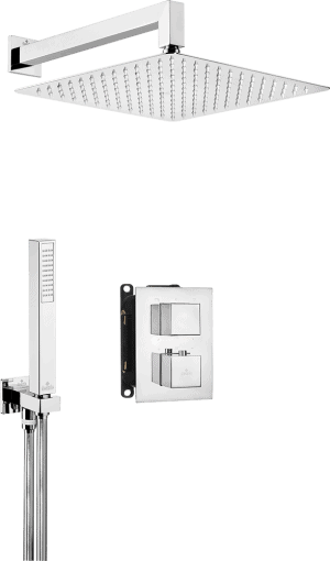 Deante Box Komplet z boxem podtynkowym termostatycznym kwadratowy BXYZ0EAT