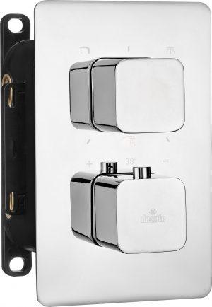 Deante Box Element zewnętrzny do BOXa termostatycznego - zaokrąglony BXY_0ECT
