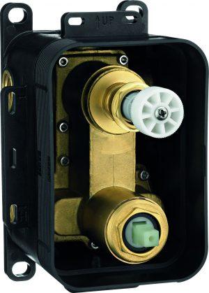 Deante Box BOX podtynkowy mieszaczowy z przełącznikiem natrysku chrom BXY_X44M