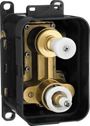 Deante Box BOX podtynkowy termostatyczny z przełącznikiem natrysku chrom BXY_X44T