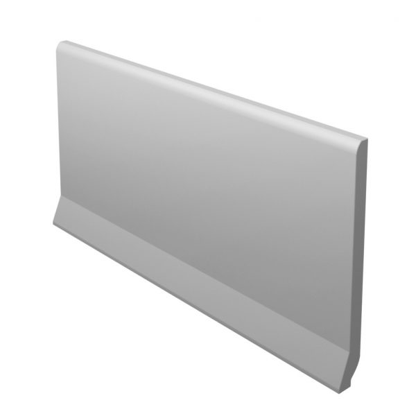 Zdjęcie Płytka podłogowa Paradyż Bazo Grys Cokół Wywiniety Ostry Monokolor Mat 10×19,8 cm