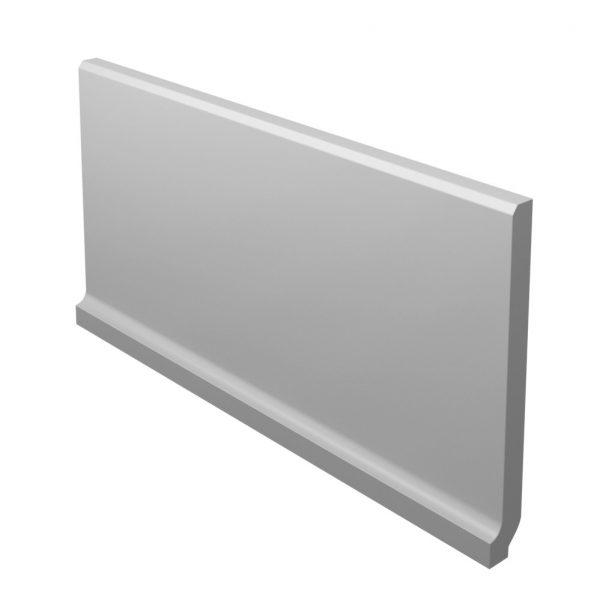 Zdjęcie Płytka podłogowa Paradyż Bazo Grys Cokół Wywinięty Monokolor Mat 10×19,8 cm