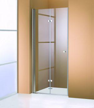 MEGA WYPRZEDAŻ! Drzwi prysznicowe skrzydłowe Huppe 501 Design lewe 118x1900 510959.087.322 @ ^