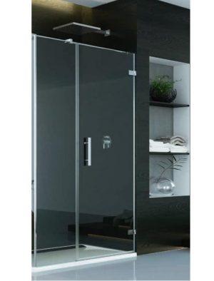 MEGA WYPRZEDAŻ! Drzwi prysznicowe SanSwiss Pur + SC W LINI PRAWE 110x200 CHROM PU31PDSM21007 @ ^