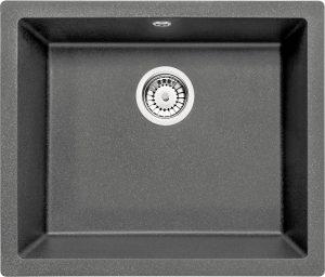 Deante Corda Flush Zlewozmywak 1-komorowy bez ociekacza - antracyt ZQA_T10F