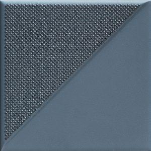 Dekor ścienny Tubądzin Reflection Navy 2 14,8x14,8 cm