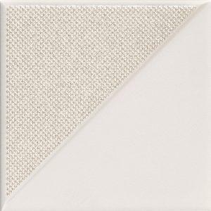 Dekor ścienny Tubądzin Reflection White 2 14,8x14,8 cm