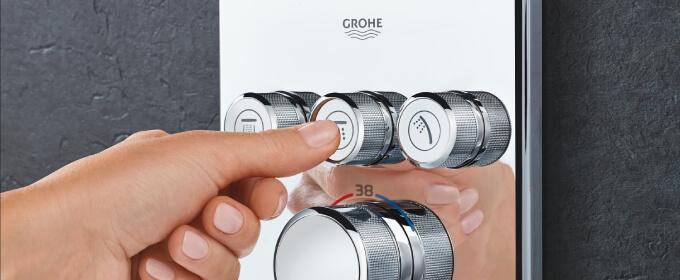 bateria podtynkowa Grohe
