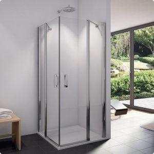 MEGA WYPRZEDAŻ! Drzwi prysznicowe do kabiny SanSwiss Swing Line prawe  SLE2DSM15007 1000x1950 @ ^