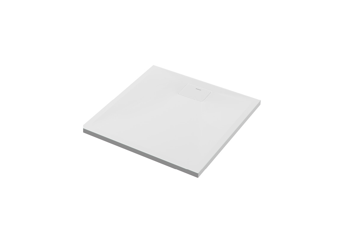 Brodzik kwadratowy Excellent Zero 80×80 cm niski Biały BREX.1202.080.080.WHN