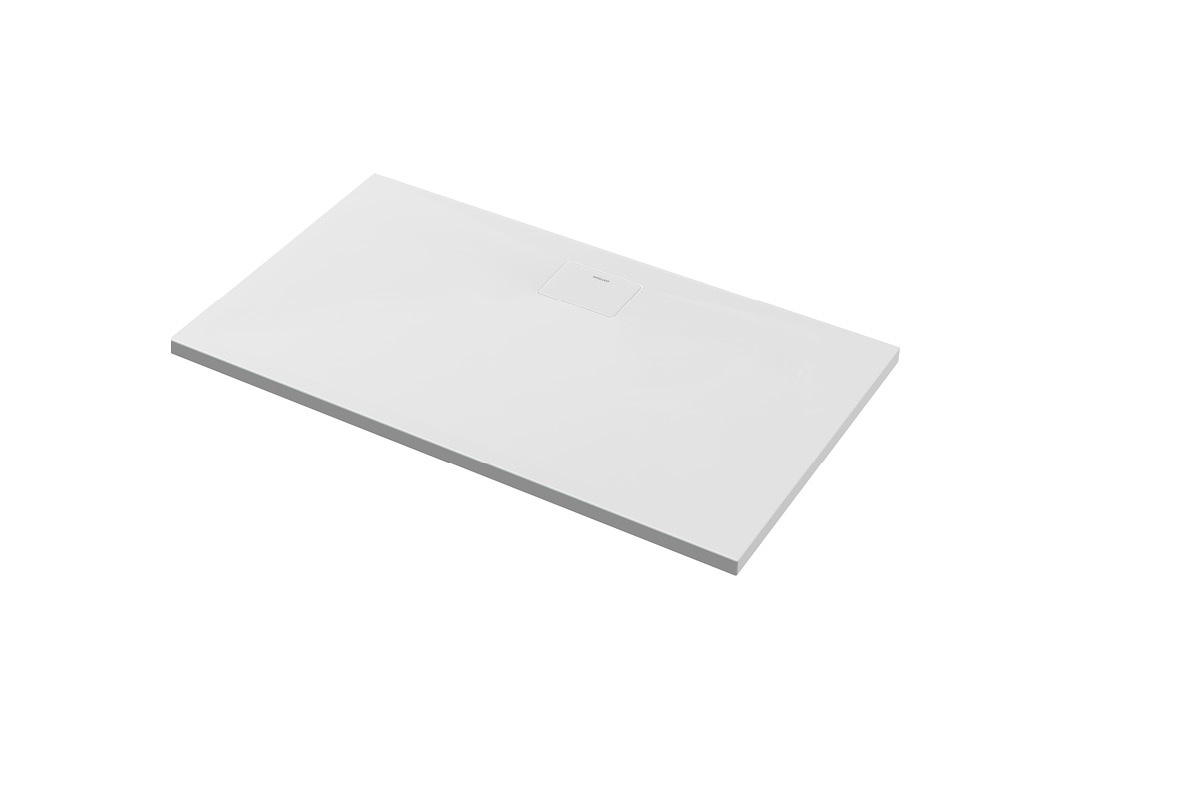 Brodzik prostokątny Excellent Zero 100x80 cm niski Biały BREX.1203.100.080.WHN