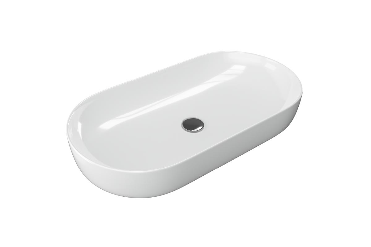 Umywalka nablatowa Actima - Excellent Jima 82x41 cm owalna biały CEAC.2001.820.WH