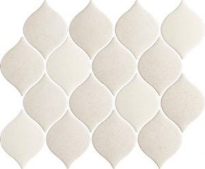 Mozaika ścienna Prasowana Arabeska Mix Paradyż Mistysand Beige 26,5x20,2 cm