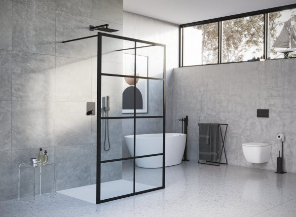Zdjęcie Brodzik kwadratowy Excellent Lavano Slim 90×90 cm Biały BREX.1102.090.090.WHN