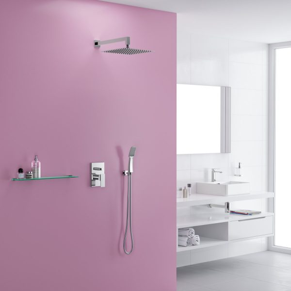 Zdjęcie Deszczownica prysznicowa kwadratowa Excellent Slim 300 chrom AREX.3032CR